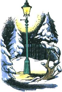 illustration from The Lion, the Witch & the Wardrobe